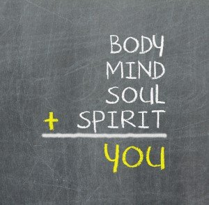 corpo-mente-anima + il tuo Spirito = te stesso