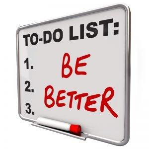 lista cose da fare: migliorare